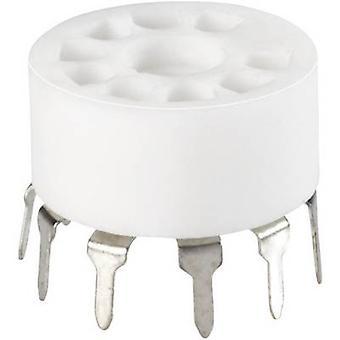 Tipo válvula soporte Base Noval guarnición de tubo de vacío (detalles) impresión B Descripción: cerámica