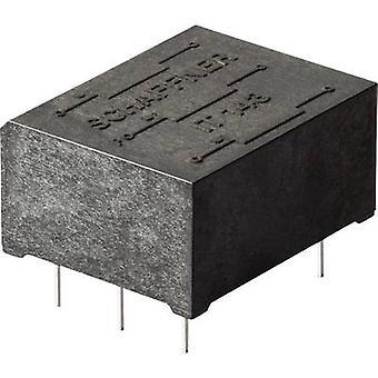 Schaffner IT253 Pulse transformer 500 V 1.1 mH (L x W x H) 17.6 x 16.7 x 11.3 mm 1 pc(s)