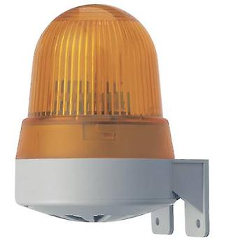 Werma Signaltechnik Combo sounder LED 422.110.75 Red Non-stop light signal 24 V AC, 24 V DC 92 dB