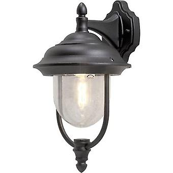 Konstsmide Parma 7222-750 Outdoor wall light Energy-saving bulb, LED (monochrome) E-27 75 W Black