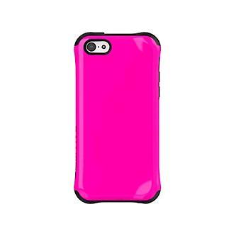 弾道 Aspira 塗装ケース iPhone 5 c (ピンク/ブラック)