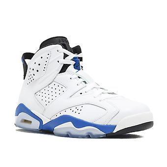 الهواء الأردن 6 الرجعية 'الرياضة الأزرق'-384664-107-أحذية