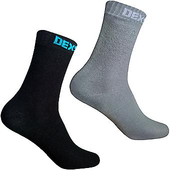 DexShell Mens Ultra Thin Waterproof Breathable Ankle Length Hiking Socks