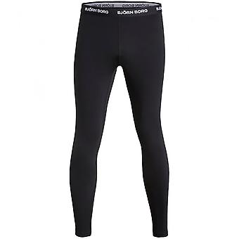 Bjorn Borg Performance Base Layer Trousers, Black