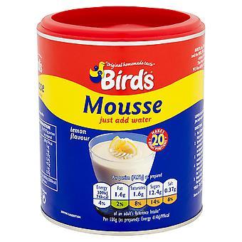 Birds Lemon Flavour Mousse Mix