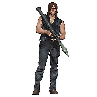 The walking dead Deluxe 10-action figure Daryl Dixon rocket launcher. Detailed action figure made of plastic, manufacturer: McFarlane.