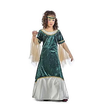 Mittelalterliches Mädchen Oliva Kinderkostüm Maid Burgfräulein Kostüm