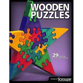 Trä pussel - 29 favorit projekt och mönster av bläddrar såg Woodw