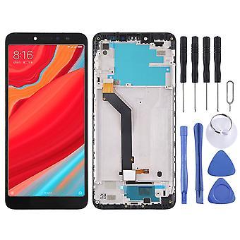 Xiaomi Redmi S2 reparasjon vises LCD fullstendig enhet touch med ramme svart erstatning