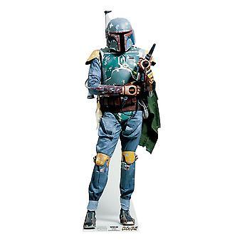 Boba Fett (Star Wars) - Levensgrote Kartonnen Uitsnede / Standee