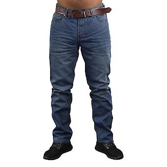 Mens sraight jeans crosshatch new farrow