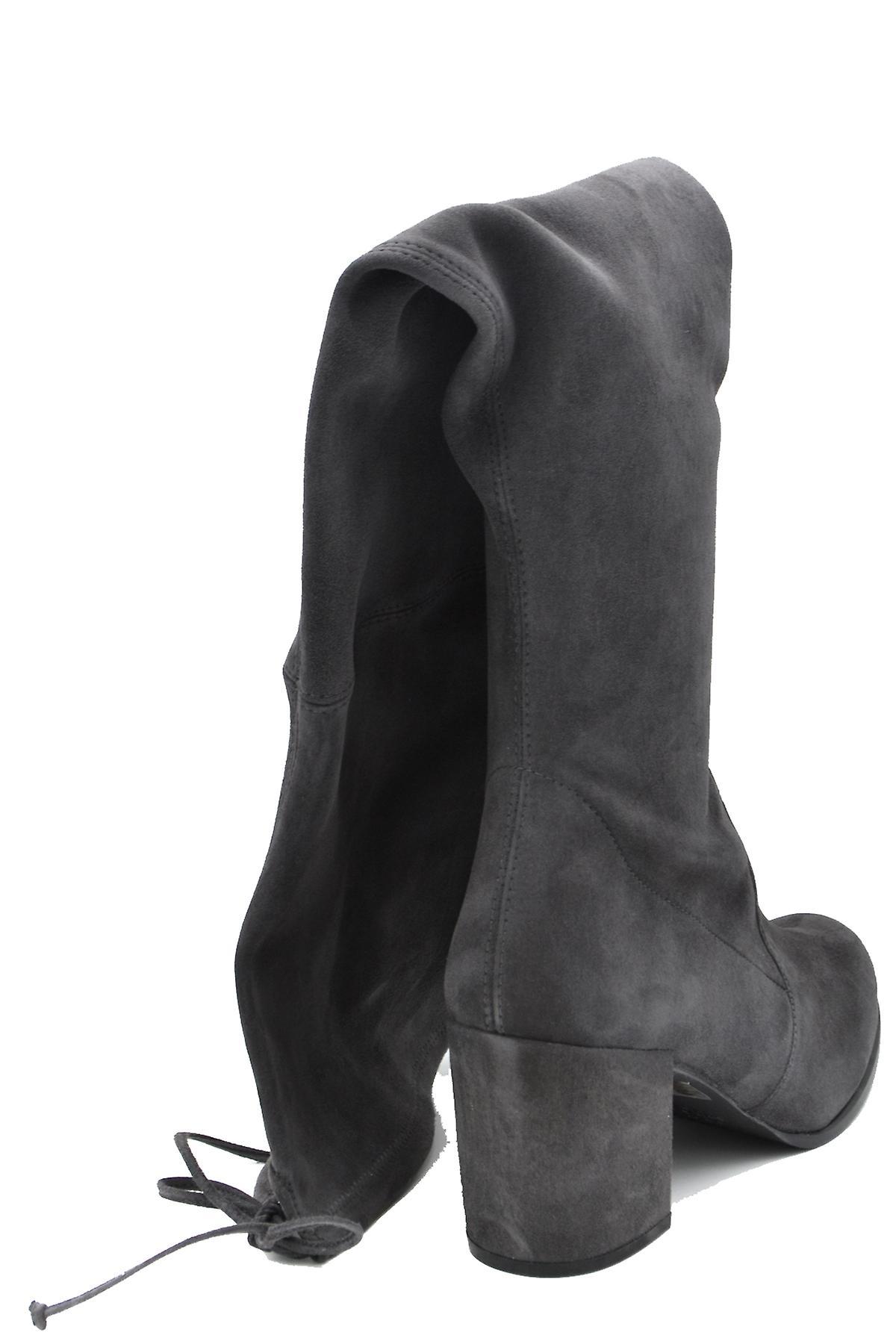 Stuart Weitzman Ezbc158014 Women's Grey Suede Boots