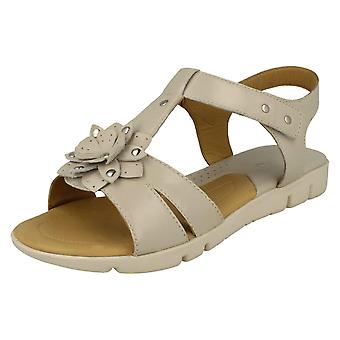 Dames Padders Flower Detailed Sandals Tansy