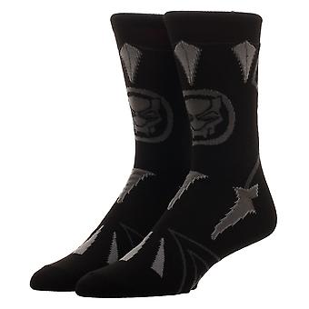 Crew Sock - Black Panther - Suit Up New cr63y2bpm