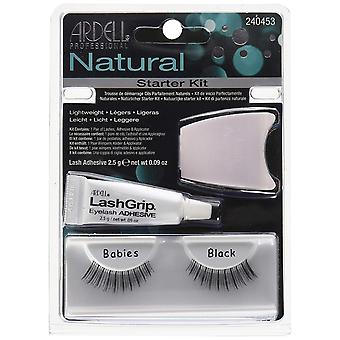 Ardell Naturals Babies Starter Kit - Natural Look Strip Ciglia con colla