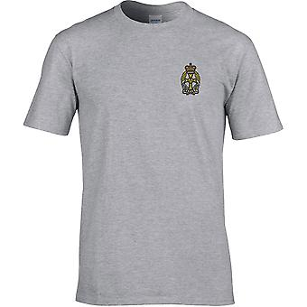 Queens Alexandra Royal Army Nursing Corps - Licensed British Army Embroidered Premium T-Shirt
