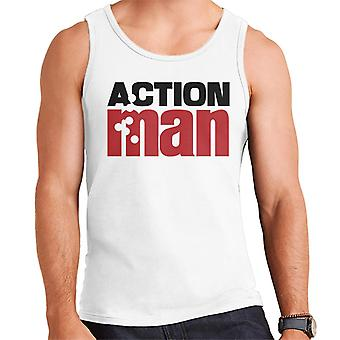 Action Man Logo Bullets Men's Vest