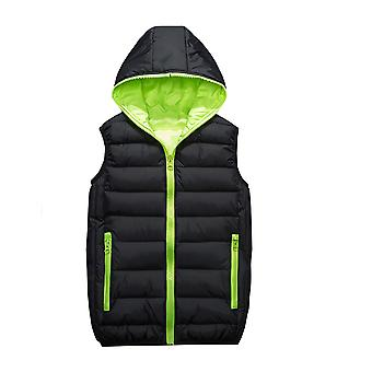 Allthemen Men's Padded Vest Hooded Zipper Autumn&Winter Warm Waistcoat