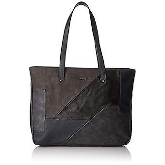 Tamaris Bimba Shopping Bag - Borsa Donna Grau (Graphite Comb.) 12x32x34 cm (B x H T)