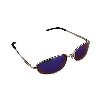 Män solglasögon Polaroid Rektangulär - Guld/Blå/Lila med gratis brillenkokerS306_1