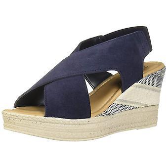 Bella Vita mujer Bec-Italia cuero abierto de punta casual plataforma sandalias