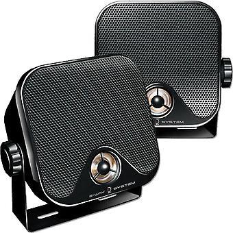 Dietz CX-4MB-mounted speakers for car camping caravan marine loudspeaker 1 pair
