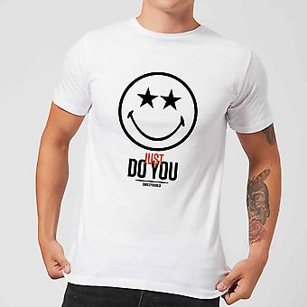 Smiley World Slogan Just Do You Men's T-Shirt - White