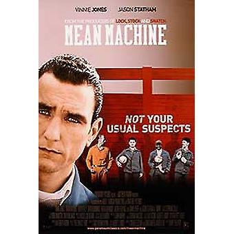 Gemiddelde machine (enkelzijdig) originele Cinema poster