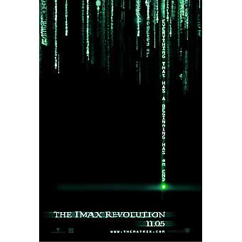 The Matrix Revolutions (Double Sided Imax Uv Coated) Original Cinema Poster