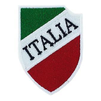 Patch Ecusson Brode Bandiera Scudetto Calcio Italia Italia Italia Italia zaino