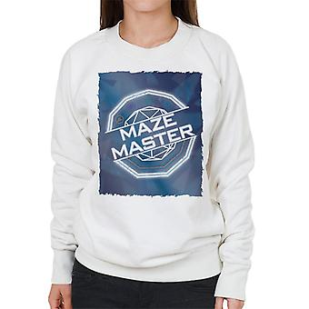 De Crystal Maze full colour vrouwen ' s Sweatshirt