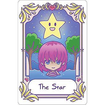 Deadly Tarot Kawaii The Star Tin Sign