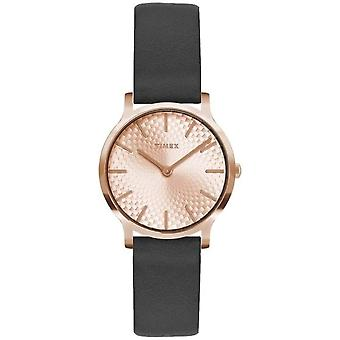 Timex Metropolitan Leather Ladies Watch TW2R91700