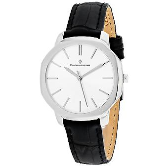 Christian Van Sant Mujeres's Octave Slim Silver Dial Watch - CV0501