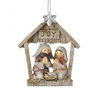 Heaven Sends Joy Nativity Stable Scene Decoration|Handpicked Gifts