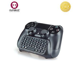 Numskull PlayStation 4 PS4 Bluetooth draadloos Mini toetsenbord / Chatpad