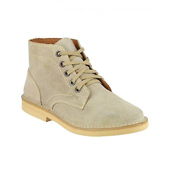 Amblers Sergeant Mens Suede Desert Boots Taupe