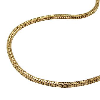 AMD gold plated snake chain gold plated snake chain 60 cm,