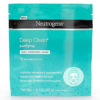 Neutrogena deep clean purifying 100% hydrogel mask, 1 oz