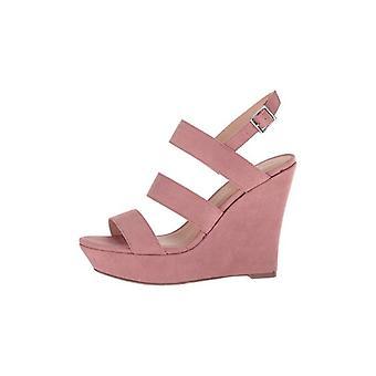 Madden Girl Womens Blenda Open Toe Casual Slingback Sandals