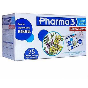 Bio3 Pharma3 Diet & Detox 25 Sachets