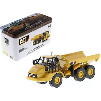 CAT Caterpillar 730 Articulated Dump Truck with Operator High Line Series 1/87 (HO) Scale Diecast Model par Diecast Masters