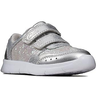 Clarks Ath Sonar T Girls Infant Sports Trainers