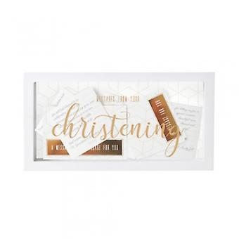 Splosh Christening Day Message Box