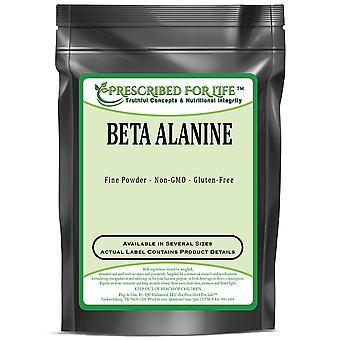 Beta alanin-naturligt förekommande icke-essentiell aminosyra-stöder prestationsförmågan