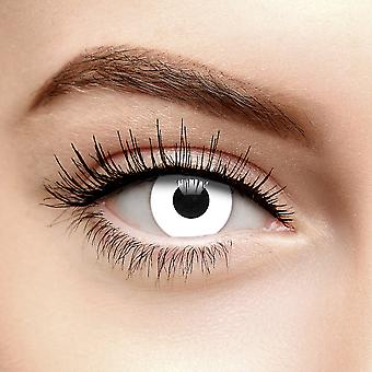 White Halloween Zombie Colored Contact Lentilles (30 Jours)