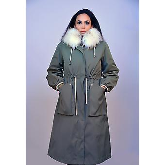Kaki Sam-rone Women's Coat K85101