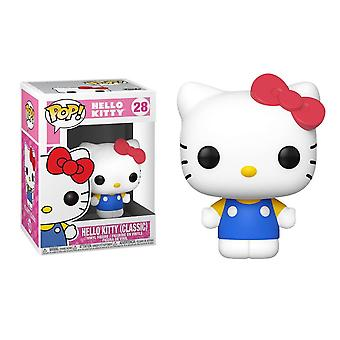 Hei kitty klassisk pop! vinyl figur