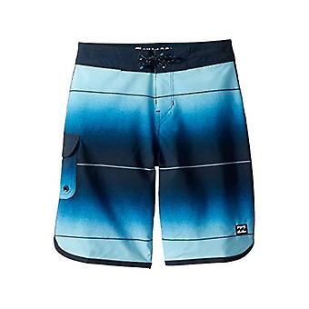 Billabong Boys' 73 Stripe Pro Boardshorts Blue 27