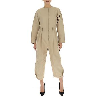 Givenchy Bw50g812py292 Damen's Beige Polyester Jumpsuit